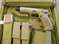 FN FNX .45acp Tactical 3 mags threaded barrel optic ready FDE