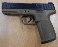 Smith & Wesson SD9VE 9mm 4in FDE