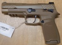 Sig Sauer P320 M17 5 9mm FDE with safety and night sights
