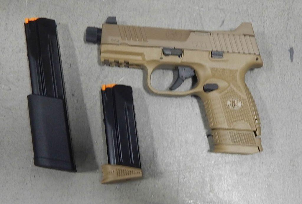 FN 509C 4.32 9MM Threaded FDE